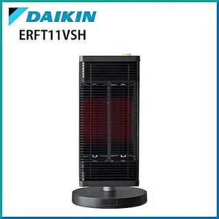 ダイキン(DAIKIN)の新品未開封  セラムヒート  ERFT11VS-H  ダークグレー(電気ヒーター)