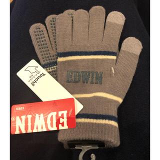 エドウィン(EDWIN)のLast Sale!【新品EDWIN】子供手袋フリーサイズ(手袋)