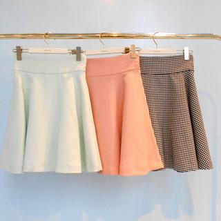 ミルク(MILK)の新品未使用タグ付き♡ミルク フレアスカート(ひざ丈スカート)
