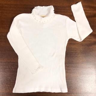 ローラアシュレイ(LAURA ASHLEY)のLAURA ASHLEY ハイネックカットソー(Tシャツ/カットソー)