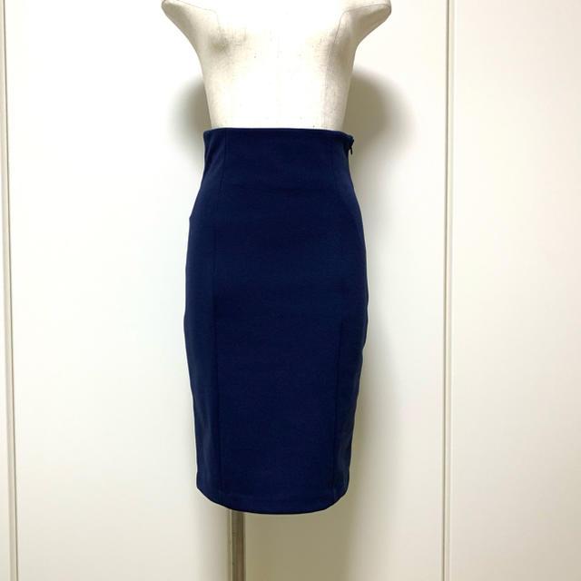 G.V.G.V.(ジーヴィジーヴィ)のG.V.G.V. ジャージ素材のペンシルスカート 膝丈 レディースのスカート(ひざ丈スカート)の商品写真