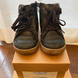 ボンポワン(Bonpoint)のpepe ブーツ サイズ24 約15cm(ブーツ)