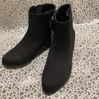 ジェリービーンズ(JELLY BEANS)のJELLYBEANSジェリービーンズ「2WAYショートブーツMブラック」新品♪(ブーツ)