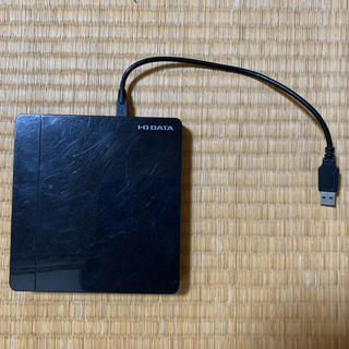 アイオーデータ(IODATA)のアイオーデータ ポータブルDVD  DVRP-U8NK(PC周辺機器)