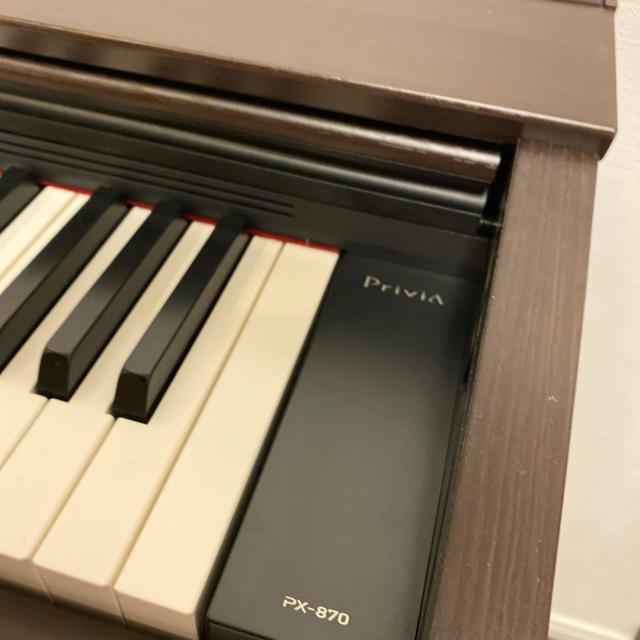 CASIO(カシオ)のCASIO Privia ox-870 電子ピアノ ほぼ新品 楽器の鍵盤楽器(電子ピアノ)の商品写真
