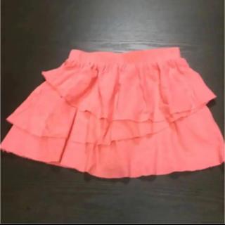 ベビーギャップ(babyGAP)の【baby GAP】スカート、4year、100〜105センチ、フリル、ピンク!(スカート)