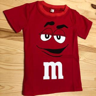 セサミストリート(SESAME STREET)のm&m's レッド tシャツ  100㎝ セサミストリート アメコミ (Tシャツ/カットソー)