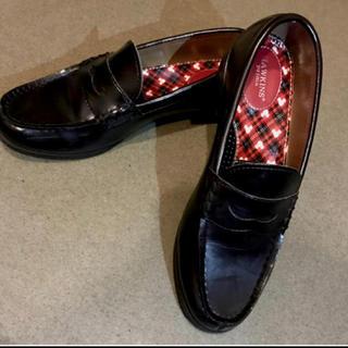ホーキンス(HAWKINS)のブラック ローファー  ホーキンス HAWKIWNS ディズニー disney(ローファー/革靴)