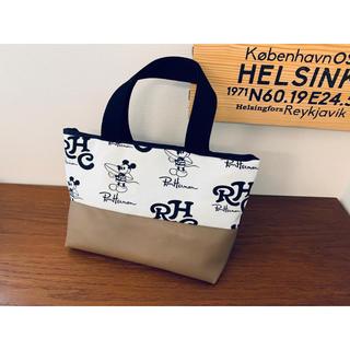 ロンハーマン(Ron Herman)の週末限定価格★ロンハーマンミッキー ×レザーミニトートバッグ(バッグ)