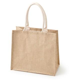 ムジルシリョウヒン(MUJI (無印良品))のジュートマイバッグ  A4サイズ(トートバッグ)
