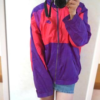 NIKE - 【NIKE】Nylon Jacket(Pink & Purple)