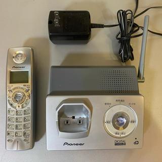 パイオニア(Pioneer)のPioneer デジタルコードレス留守番電話機 TF-FD1500-S(その他)
