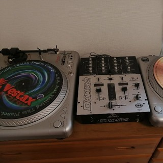 DJ ターンテーブル ミキサー vestax(ターンテーブル)