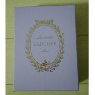 ラデュレ(LADUREE)のラデュレ 空箱 パープル(ショップ袋)