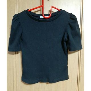 ローズバッド(ROSE BUD)の黒 レディース トップス(Tシャツ(半袖/袖なし))
