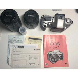 キヤノン(Canon)のCanon NEW EOS Kiss / TAMRON Wズームレンズ(フィルムカメラ)