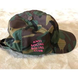 アンチ(ANTI)のanti social club スナップバック(キャップ)