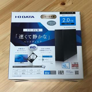 アイオーデータ(IODATA)の【阪本様専用】I-O DATA 外付けハードディスク 2TB テレビ パソコン(テレビ)