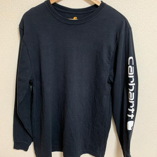 カーハート(carhartt)のカーハート ロンT   古着 レア(Tシャツ/カットソー(七分/長袖))