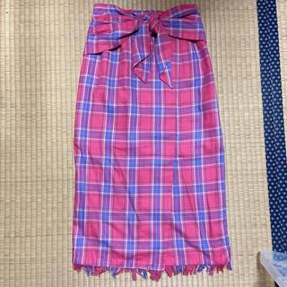 ミーア(MIIA)の新品ミーア チェックタイトスカート(ひざ丈スカート)