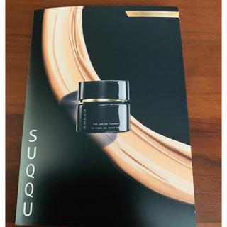 スック(SUQQU)の発売 9月4(金)SUQQU ザクリ-ムファンデ-ション120#SF25サンプル(その他)