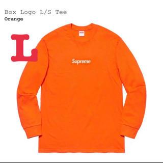 シュプリーム(Supreme)のsupreme Box Logo L/S Tee シュプリーム ボックスロゴ  (Tシャツ/カットソー(七分/長袖))
