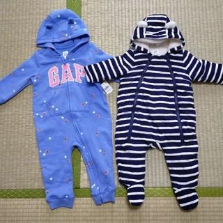 ベビーギャップ(babyGAP)のベビー服 ジャンプスーツ カバーオール ロンパース(ロンパース)