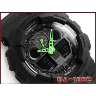 ジーショック(G-SHOCK)のG-SHOCK ジーショック アナデジ 腕時計 GA-100C-1A3DR(腕時計(アナログ))