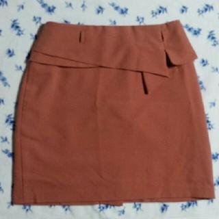 ハニーズ(HONEYS)のフリル スカート ペプラム 台形(ミニスカート)