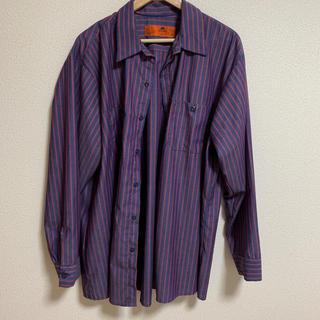 ポロラルフローレン(POLO RALPH LAUREN)のRED CAP 古着 ストライプシャツ(シャツ)