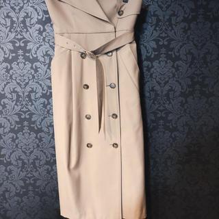 エンフォルド(ENFOLD)のENFOLD トレンチスカート(ロングスカート)