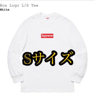 シュプリーム(Supreme)のウエケン様専用オンライン分supreme Box Logo L/S white(Tシャツ/カットソー(七分/長袖))