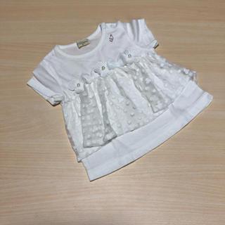 ニットプランナー(KP)のKP♡トロワラパン♡レースブラウス80(Tシャツ)