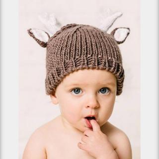 ボンポワン(Bonpoint)のthe blueberry hillブルーベリーヒルニット帽 ベビーキッズ(帽子)