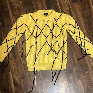 カルバンクライン(Calvin Klein)のmen's CALVIN KLEIN  ニットプルオーバー(ニット/セーター)