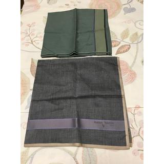 ヴァレンティノ(VALENTINO)のハンカチ メンズ 2枚 バレンチノ他(ハンカチ/ポケットチーフ)