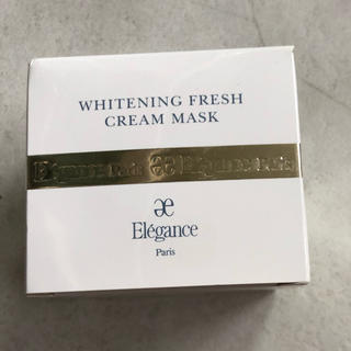 エレガンス(Elégance.)の新品つ エレガンス ホワイトニング フレッシュクリーム マスク(フェイスクリーム)