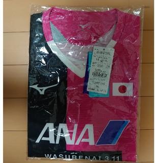 ミズノ(MIZUNO)のミズノ 限定品 卓球女子日本代表 レプリカ シャツ ユニフォーム 男女兼用2XL(卓球)