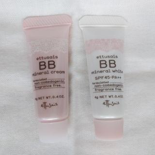 エテュセ(ettusais)のettusais(エテュセ) BB mineral 2点 おまけ(サンプル)付き(BBクリーム)