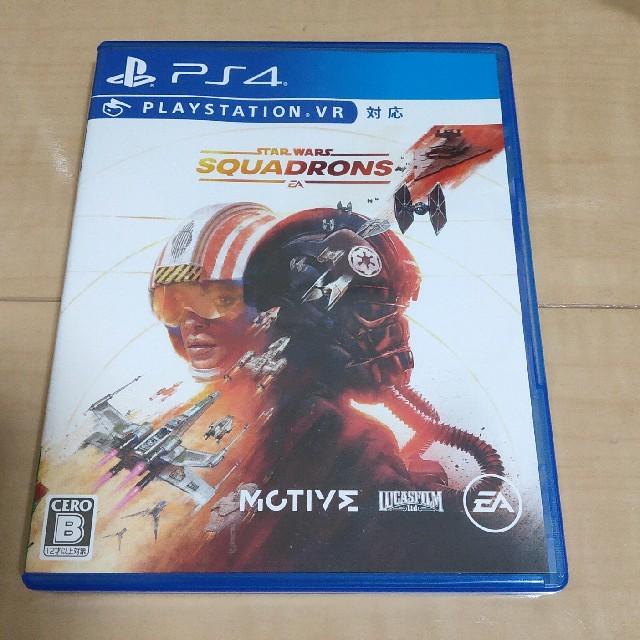 Star Wars:スコードロン PS4 初回特典未使用 エンタメ/ホビーのゲームソフト/ゲーム機本体(家庭用ゲームソフト)の商品写真
