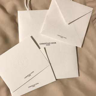 クリスチャンディオール(Christian Dior)のクリスチャンディオール レターセット(ノート/メモ帳/ふせん)