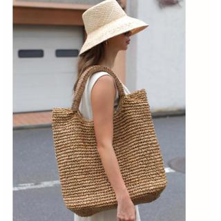 ルームサンマルロクコンテンポラリー(room306 CONTEMPORARY)の 新品☆Handle Design Paper Bag(かごバッグ/ストローバッグ)