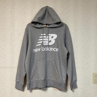 ニューバランス(New Balance)のNewbalance パーカー グレー(パーカー)
