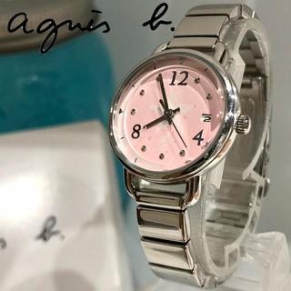 アニエスベー(agnes b.)の83 アニエスベー時計 レディース腕時計 新品電池 付属品 箱 コマ付き(腕時計)