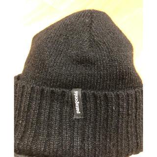 パタゴニア(patagonia)のpatagonia パタゴニア ニット帽 黒色(ニット帽/ビーニー)