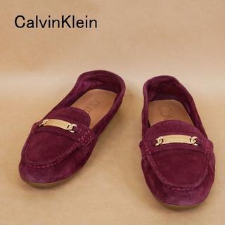 カルバンクライン(Calvin Klein)のCalvinKlein カルバンクライン US8.5 スウェード シューズ(スリッポン/モカシン)
