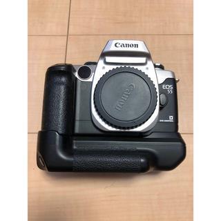 キヤノン(Canon)のEOS55 CANON フィルムカメラ グリップ付き(フィルムカメラ)
