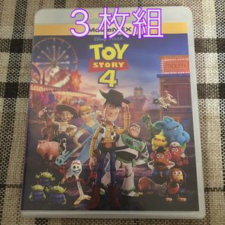 トイストーリー(トイ・ストーリー)のトイ・ストーリー4 MovieNEX DVD ブルーレイ(キッズ/ファミリー)