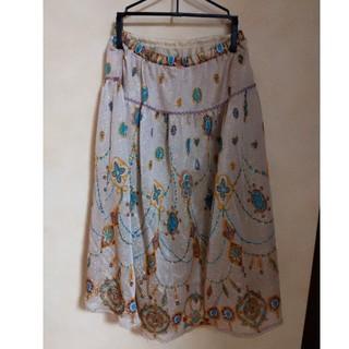 ツモリチサト(TSUMORI CHISATO)のツモリチサト ジェリースカート(ひざ丈スカート)