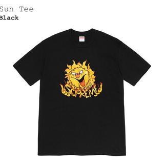 シュプリーム(Supreme)のシュプリーム Supreme Sun Tee 黒 M 新品未使用(Tシャツ/カットソー(半袖/袖なし))
